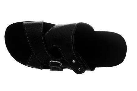 New man's fashionable summer sandal isolated on white background Stock Photo - 21779517