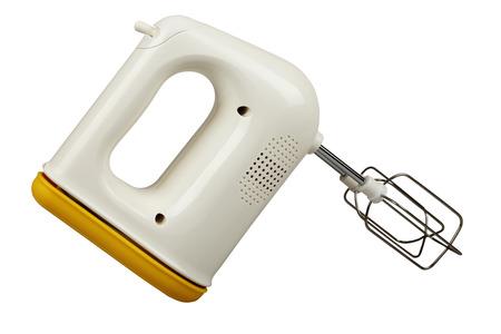 Electric  kitchen mixer isolated on white background photo