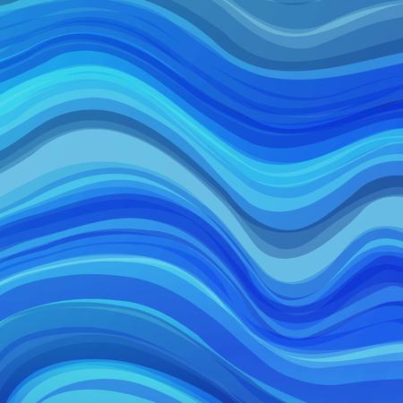 broadsheet: Vector illustration blue background for greeting card, postcard, business card or poster Illustration