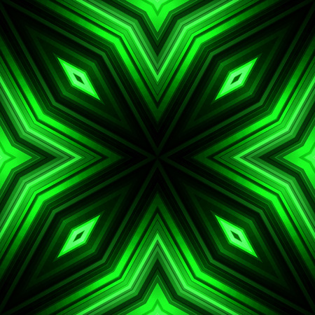 broadsheet: Vector illustration green glowing background for greeting card, postcard, business card or poster