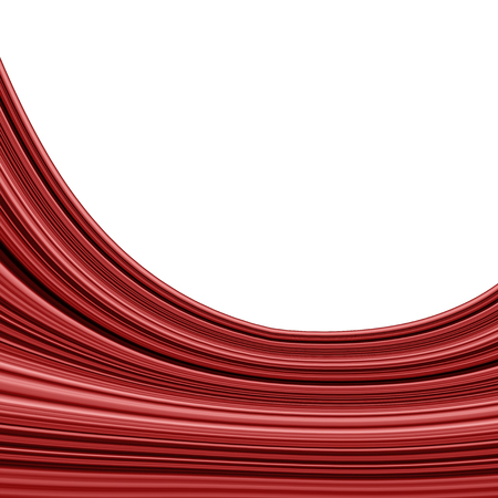 Raster illustration of abstract red background Stok Fotoğraf