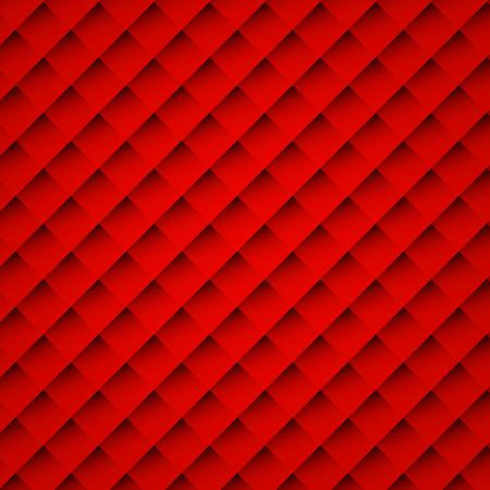 Vector illustration abstract red square background for card or cover
