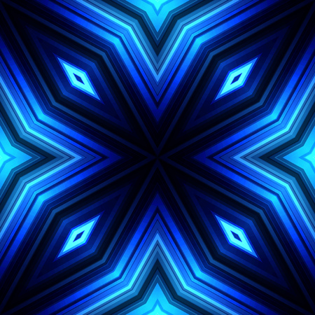 broadsheet: Vector illustration blue glowing background for greeting card, postcard, business card or poster Illustration