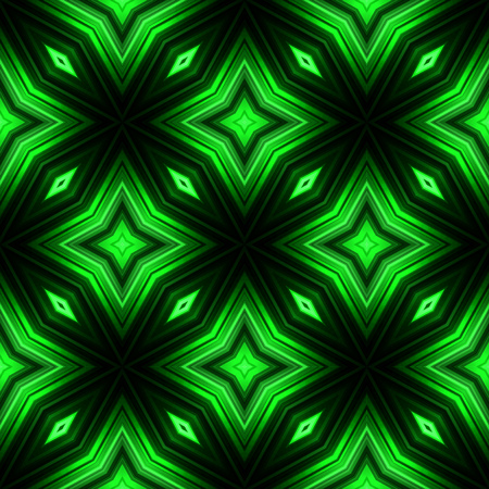broadsheet: Vector illustration green glowing seamless background for greeting card, postcard, business card or poster