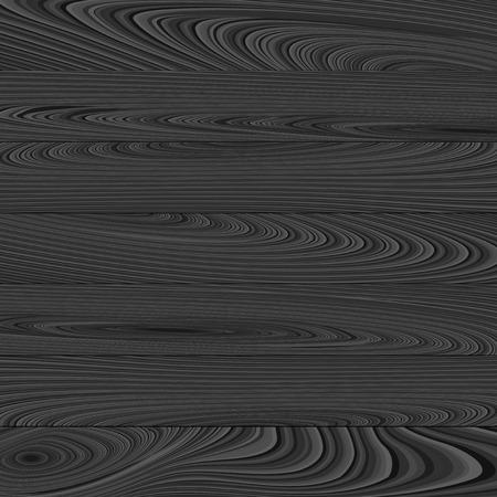 Illustrazione vettoriale astratta in bianco e nero su sfondo di legno. Vettoriali
