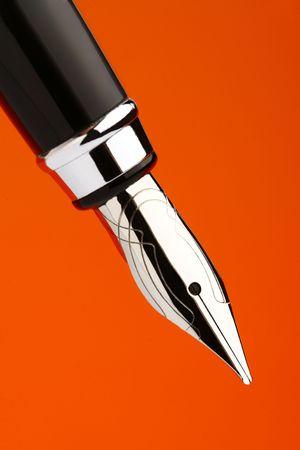 Selective focus on Fountain Pen