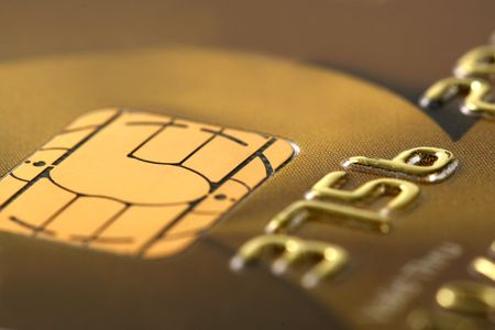credit card number macro Stock Photo - 8116065
