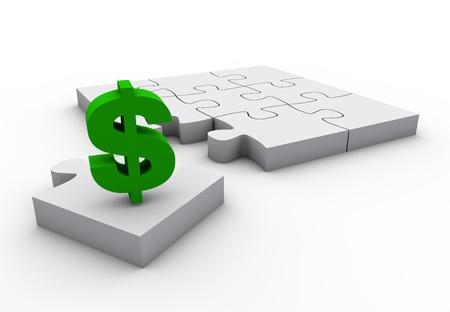 signo pesos: La pieza faltante del rompecabezas es la financiaci�n del rompecabezas