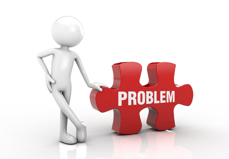 emphasized: visual puzzle and he emphasized the problem post.
