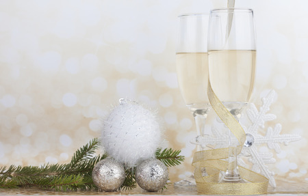 christmas drink: Happy New Year concept
