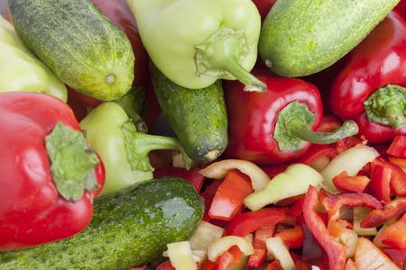 Composition with raw vegetables Zdjęcie Seryjne