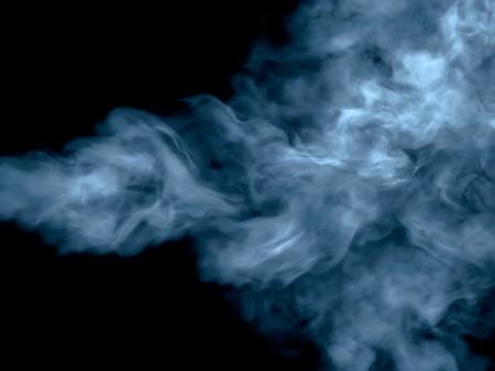 detailed blue smoke photo