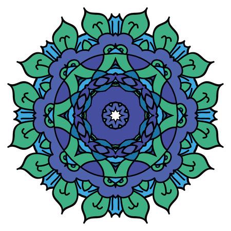 easterly: Blue mandala