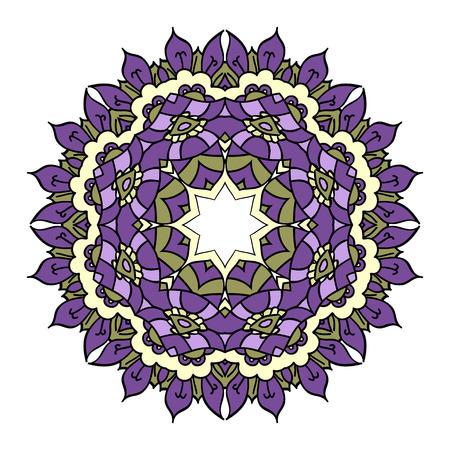 easterly: Purple mandala