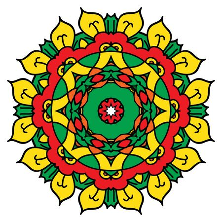 easterly: Bright mandala