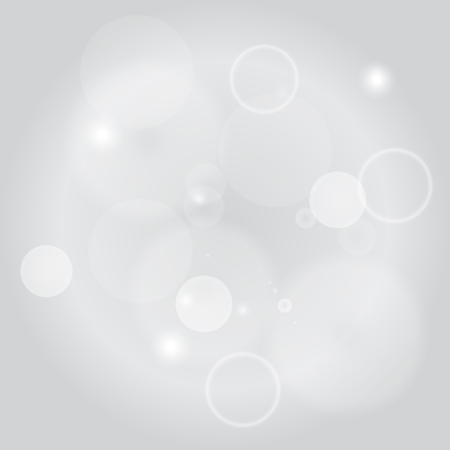 spot lit: Sparkle circles abstract vector background illustration. Abstract shiny glitters, Light gray texture with round elements. Monochrome backdrop.
