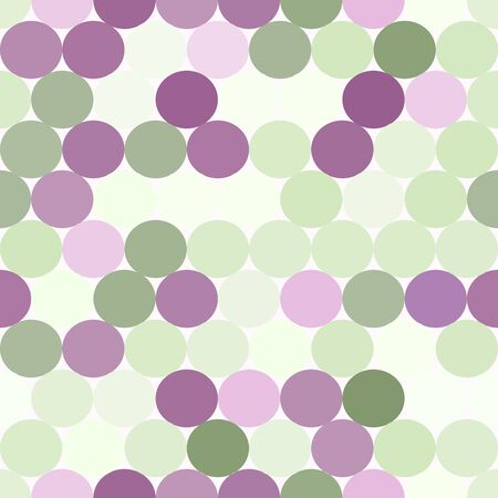pale green: Pale green and purple vector seamless pattern with circles. Abstract geometrical background.