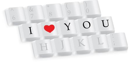 """part of me: 3 � parte de teclado con """"Te quiero"""""""