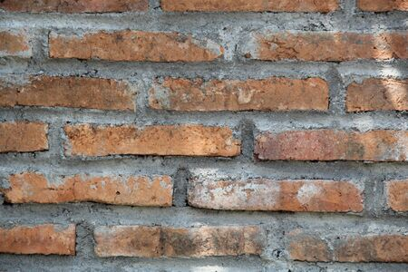 Brick Wall Pattern Red Stok Fotoğraf
