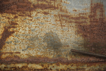 Zinc metal scratched photo