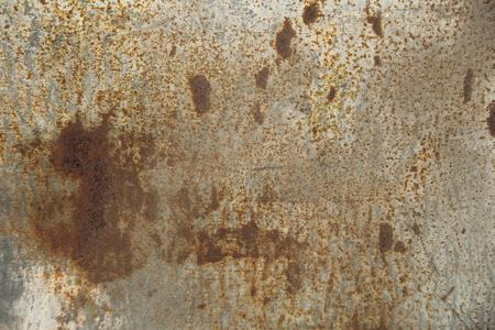 scratched: Zinc metal texture scratched