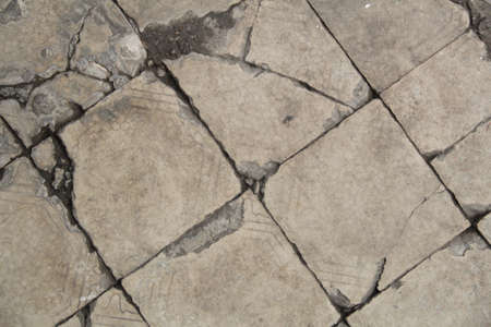 Broken Tile Background photo
