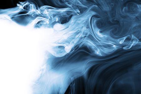 air flow: Realistica Smoke  Archivio Fotografico
