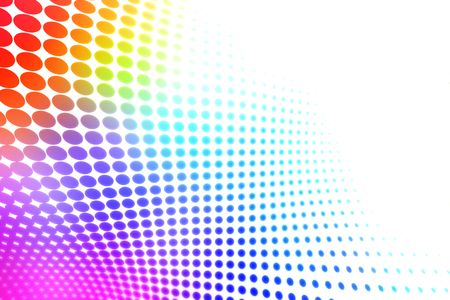 rainbow background: Colorful halftone background