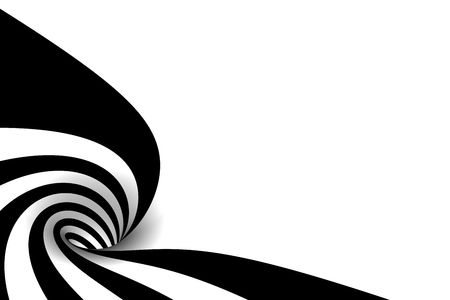 Abstract spiral with empty space Stock Photo - 2597064