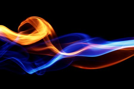 Fire & ice design Stock Photo - 2597055