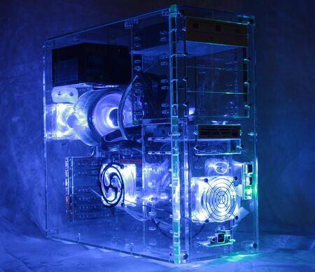 op maat: Aangepast ingebouwde computer Stockfoto
