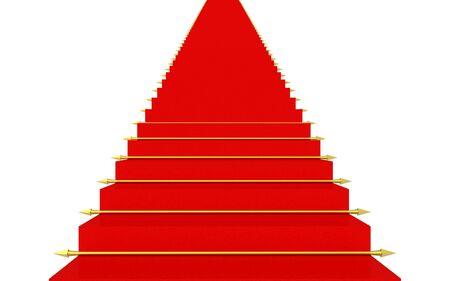 Roter Teppich Standard-Bild - 2639590