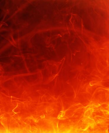 fiery hot background Stock Photo