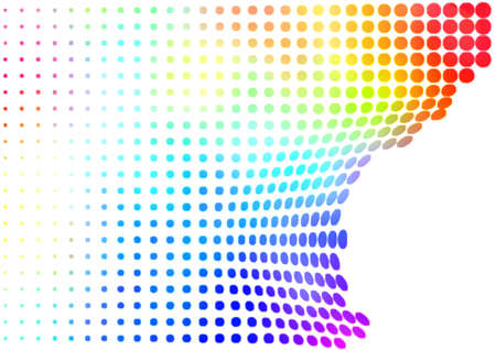 Colorful halftone abstract Stock Photo - 2655841