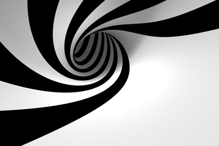 Abstract spiral with empty space Archivio Fotografico
