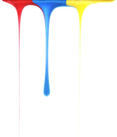 Pouring primary colors Stock Photo - 2667117