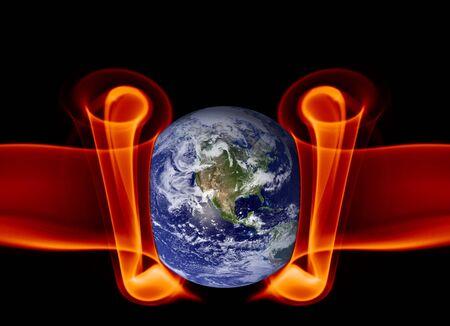Earth abstract Stock Photo - 2667238