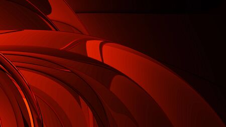 publicity: smooth red metal abstract background Stock Photo