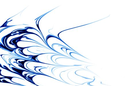Beauitful blue abstract photo