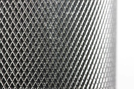Metal texture on white Stock Photo - 2813952