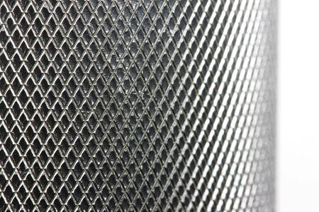 Metal texture on white Stock Photo - 2813952