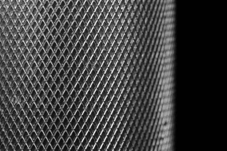 Metal texture on black Stock Photo - 2940171