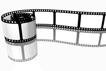 Roll film: En blanco tira de pel�cula