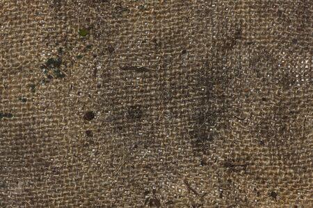 Dirty burlap texture photo