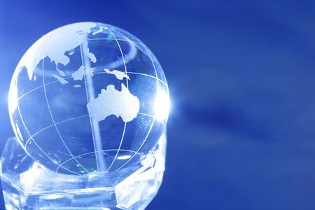 Glass globe Stock Photo - 3097337