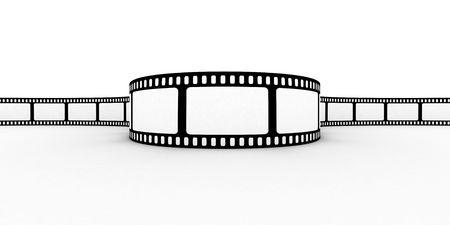 Blank film strip Stock Photo - 3097431