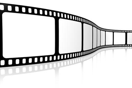 Blank film strip Stock Photo - 3324078