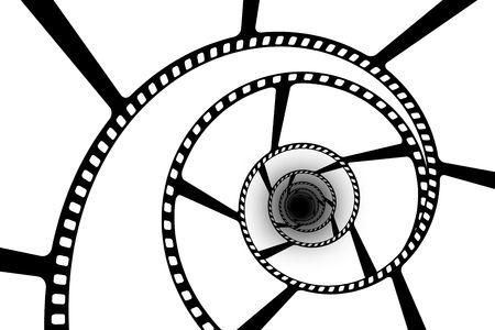 フィルム ストリップ抽象 写真素材
