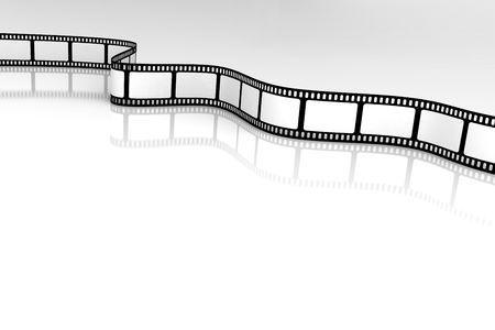Blank Film Stock Photo - 3417483