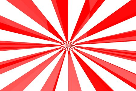 Red & White burst Stock Photo - 3536734